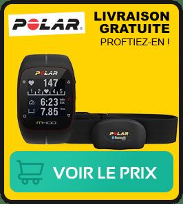 presentation de la meilleure montre Polar m400