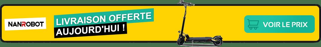 Mon avis et test sur la trottinette électrique nanrobot d5