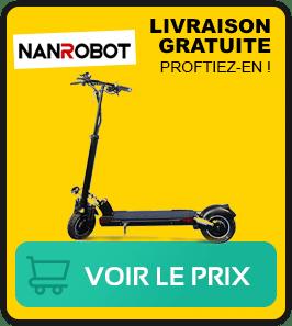 Presentation de la trottinette électrique nanrobot d5