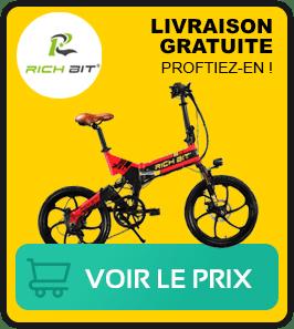 Fiche technique sur ce vélo pliant rich bit rt730