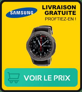 Presentation de la meilleure montre samsung gear s3