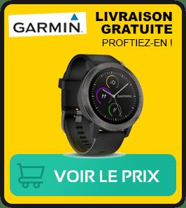 Presentation de la meilleure montre Garmin vivoactive 3