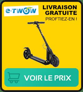 Presentation de la trottinette E twow eco