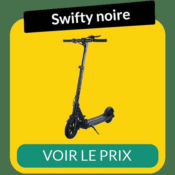 fiche technique de la trottinette électrique pliable Swifty noire