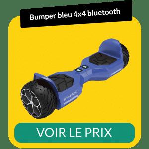 hoverboard bumper 4x4 bluetooth bleu