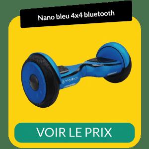 Hoverboard 4x4 bluetooth nano bleu