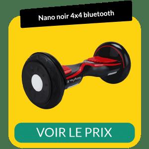Hoverboard 4x4 bluetooth nano noir