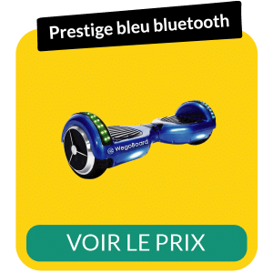 Hoverboard prestige bluetooth bleu