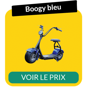 Scooter electrique boogy bleu