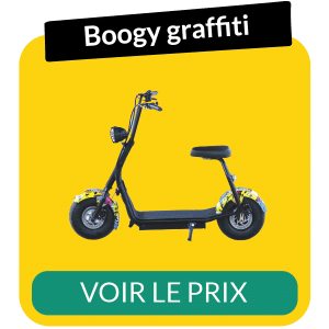 Scooter electrique boogy graffiti