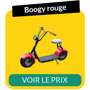 Scooter electrique boogy rouge