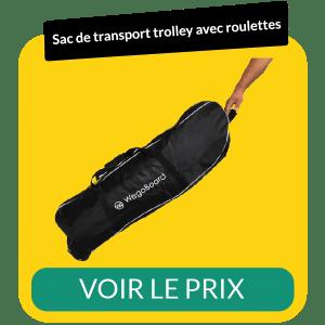 Sac de transport trolley avec roulettes pour trottinette