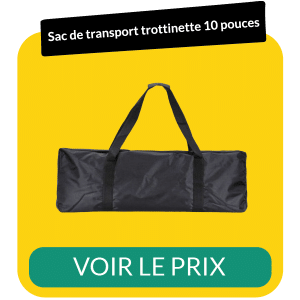 Sac de transport trottinette 10 pouces